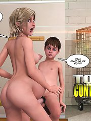 Mad 3d sex comics with pregnant mom seducing young boy